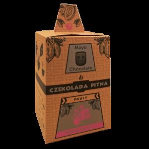 Czekolada pitna z truskawką