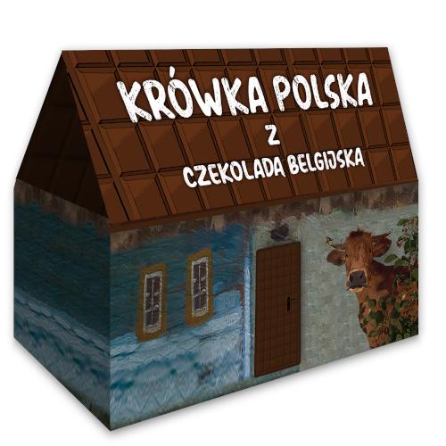 krówka polska z czekoladą